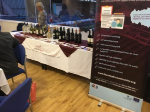 Silver Fox Wines at Burnley FC in the Community Event
